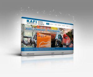Kafi-Webseite